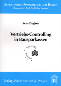 Cover Vertriebs-Controlling in Bausparkassen