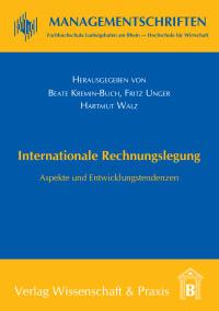 Cover Internationale Rechnungslegung