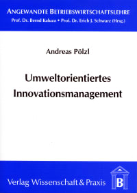 Cover Umweltorientiertes Innovationsmanagement