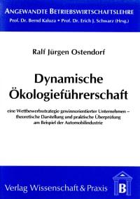 Cover Dynamische Ökologieführerschaft
