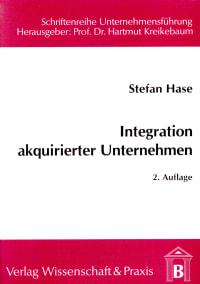 Cover Integration akquirierter Unternehmen
