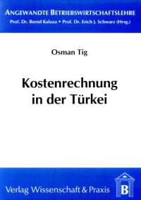 Cover Kostenrechnung in der Türkei