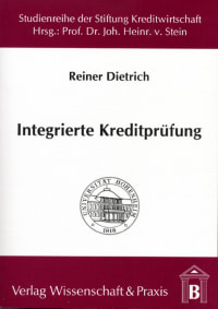 Cover Integrierte Kreditprüfung