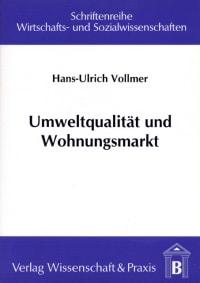 Cover Umweltqualität und Wohnungsmarkt