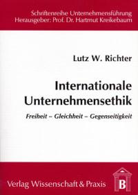 Cover Internationale Unternehmensethik