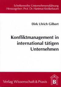 Cover Konfliktmanagement in international tätigen Unternehmen