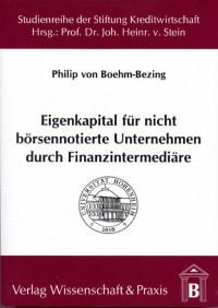 Cover Eigenkapital für nicht börsennotierte Unternehmen durch Finanzintermediäre