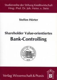 Cover Shareholder Value-orientiertes Bank-Controlling