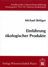 Cover Einführung ökologischer Produkte