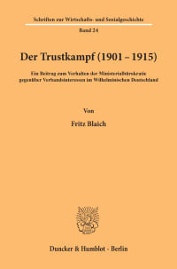 Cover Der Trustkampf (1901 - 1915)