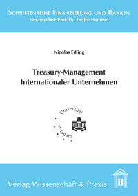 Cover Treasury-Management Internationaler Unternehmen