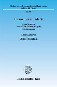 Cover Kommunen am Markt