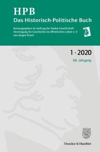 Cover Das Historisch-Politische Buch (HPB)
