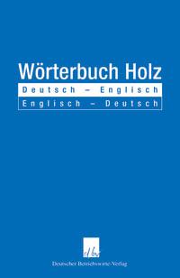 Cover Wörterbuch Holz