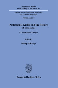Cover Professional Guilds and the History of Insurance