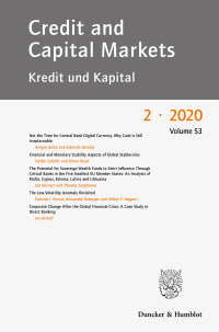 Cover Credit and Capital Markets (CCM)