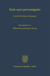 Cover Iuris sacri pervestigatio