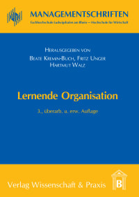 Cover Lernende Organisation