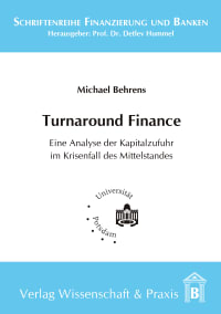 Cover Turnaround Finance