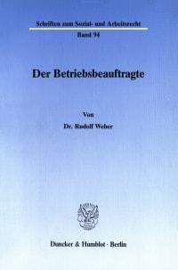 Cover Der Betriebsbeauftragte