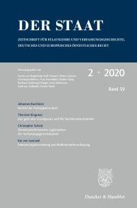 Cover Der Staat (STAAT)