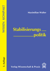 Cover Stabilisierungspolitik
