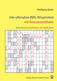Cover Der ultimative BWL-Wissenstest mit Kreuzworträtseln