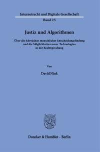Cover Justiz und Algorithmen