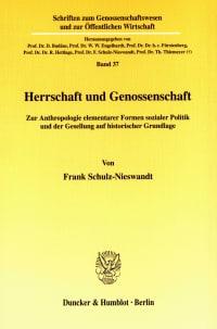 Cover Herrschaft und Genossenschaft