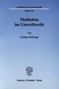 Cover Mediation im Umweltrecht