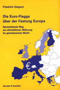 Cover Die Euro-Flagge über der Festung Europa