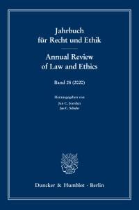 Cover Jahrbuch für Recht und Ethik (JRE)