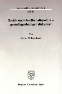 Cover Sozial- und Gesellschaftspolitik - grundlagenbezogen diskutiert