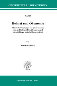 Cover Heimat und Ökonomie