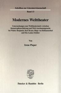 Cover Modernes Welttheater