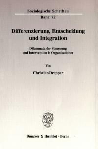 Cover Differenzierung, Entscheidung und Integration