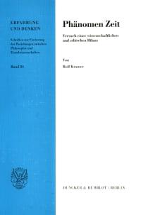 Cover Phänomen Zeit