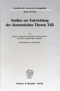 Cover Deutsche Finanzwissenschaft zwischen 1918 und 1939
