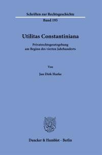 Cover Utilitas Constantiniana