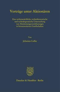 Cover Verträge unter Aktionären