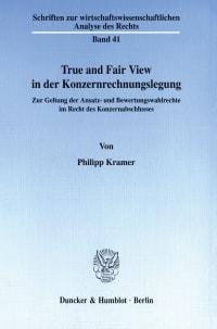 Cover True and Fair View in der Konzernrechnungslegung