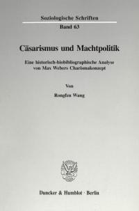 Cover Cäsarismus und Machtpolitik