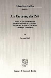 Cover Am Ursprung der Zeit