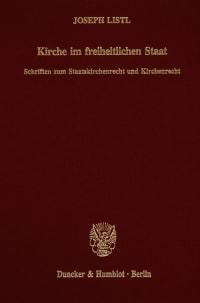 Cover Kirche im freiheitlichen Staat