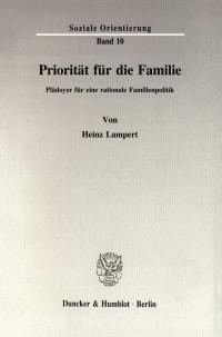 Cover Priorität für die Familie