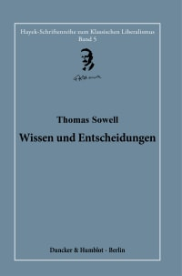Cover Wissen und Entscheidungen