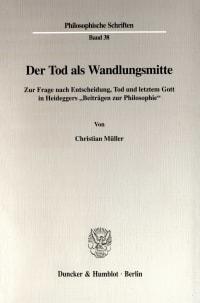 Cover Der Tod als Wandlungsmitte