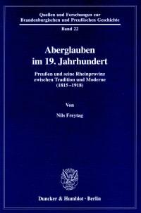 Cover Aberglauben im 19. Jahrhundert