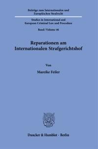 Cover Reparationen am Internationalen Strafgerichtshof