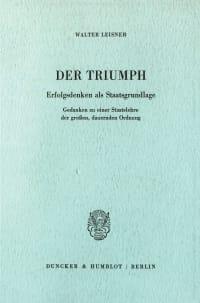 Cover Der Triumph